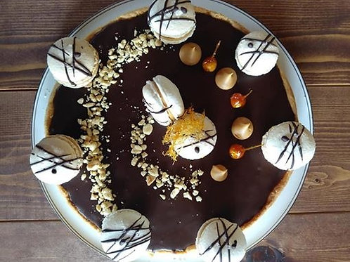 Milk Chocolate Peanut Caramel Tart