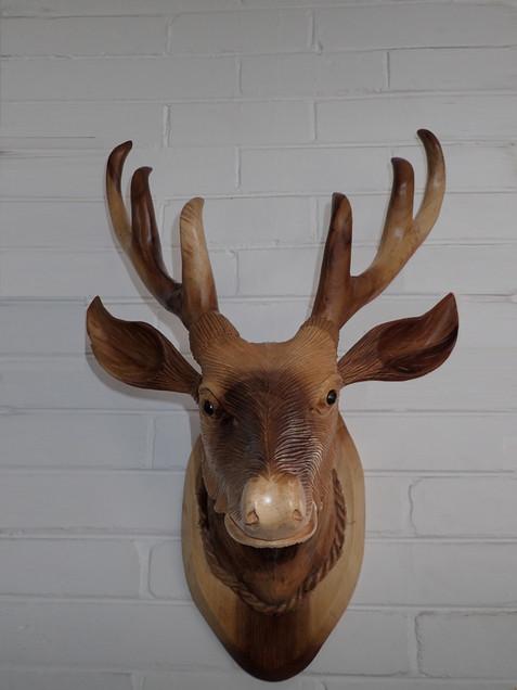 Timber Deer Head.