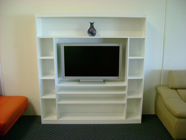 Tv Bookself Wall Unit