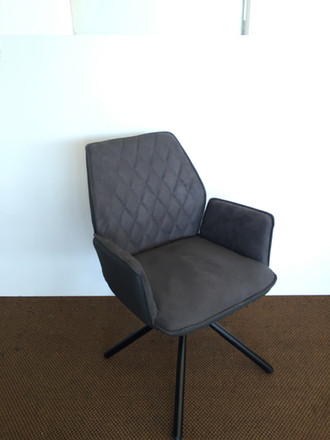 Palm Swivel Arm Chair