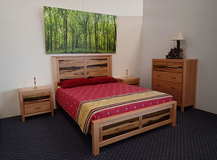 Black Heart Sassafras Ash Bedroom Suite
