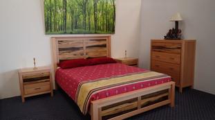 Black Heart Sassafras Ash Bedroom Suite