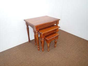 Mahogany Victorian Nest Of Tables.JPG