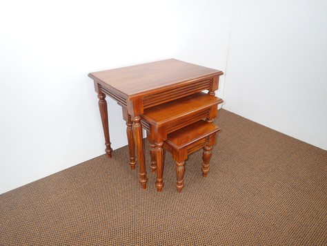 Mahogany Victorian Nest Of Tables.JPG