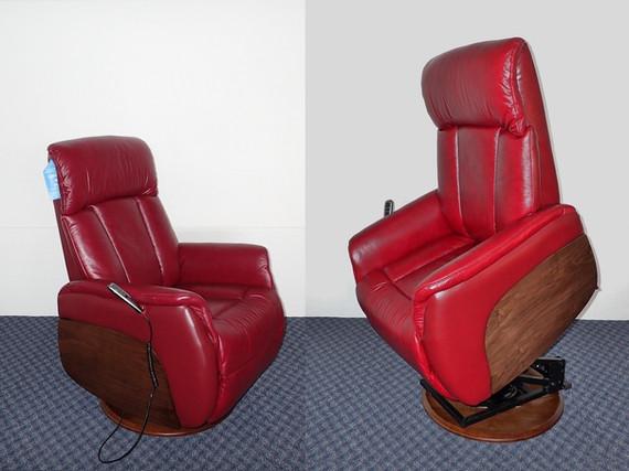 Jr Freedom -  Swivel Lift Chair , Leathe