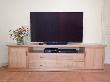 Ash 4 Draw 2 Door 2100mm  Entertainment