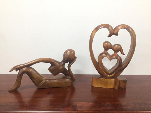 Abstact Wood Sculpture.
