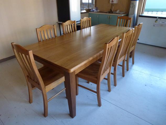 Brighton 2400mm Table Setting