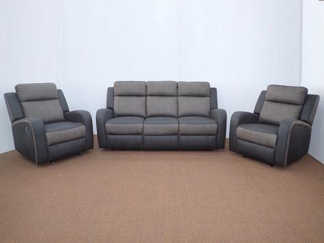 Toni 4 Recliner Lounge Suite 2 Tone Rhin