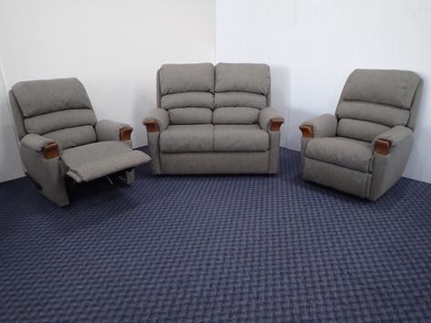 Slimline 2 Seater + 2 Recliner Longe Suite