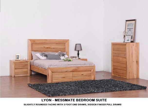 Lyon Messmate Bedroom Suite