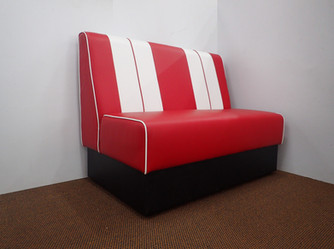 2 Seater Booth Sofa.