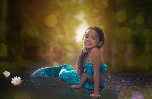 Ameliyah on Pond