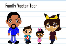 Family Character Line Up
