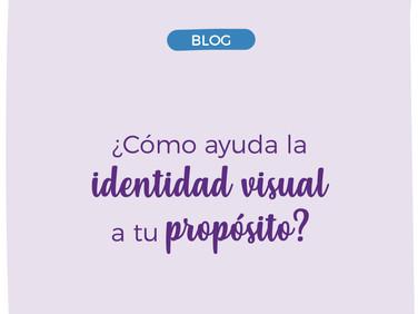 ¿Cómo ayuda la identidad visual a tu propósito de marca?