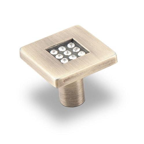 Ручка-кнопка с кристаллами CRL03 BA