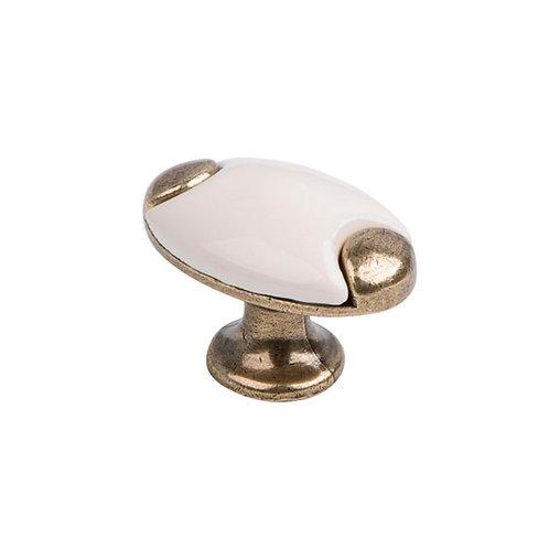 Ручка-кнопка с фарфором KF05-10 OAB