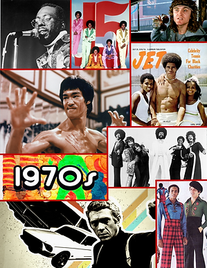 We Were Funky 70's Collage