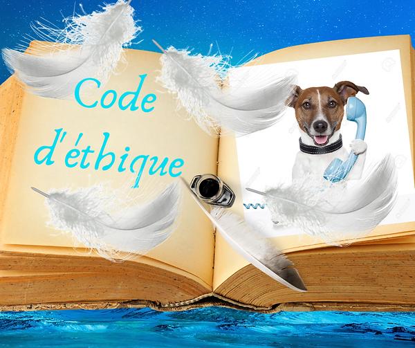 Code d'éthique communication animale, Et
