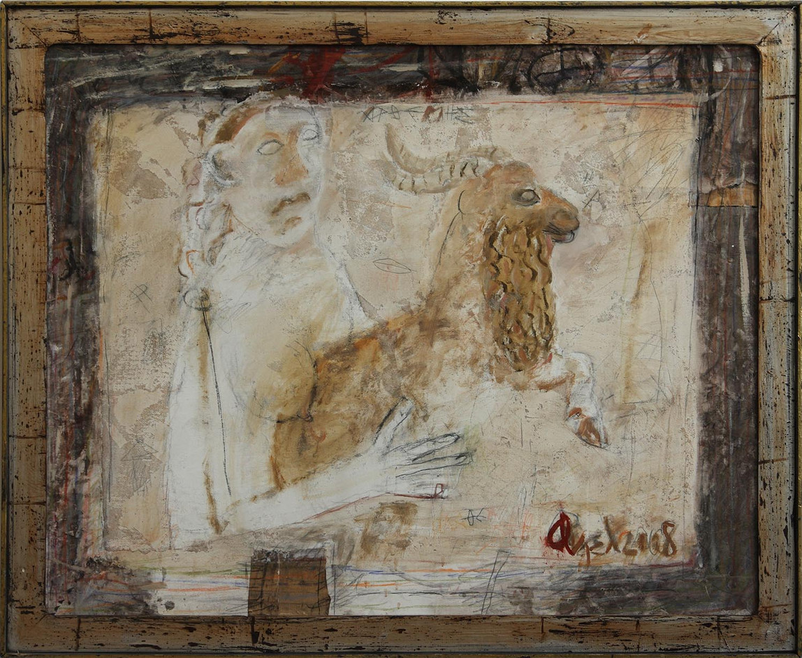007 Odysseus coming back,oil on canvas,