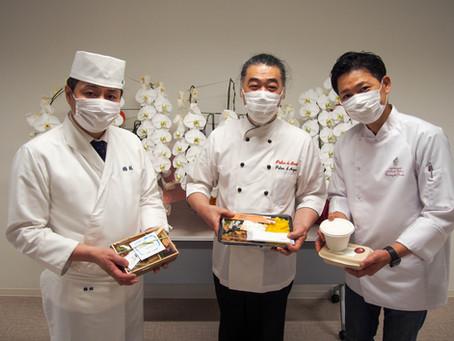 横浜市民病院へお弁当を届ける!day1