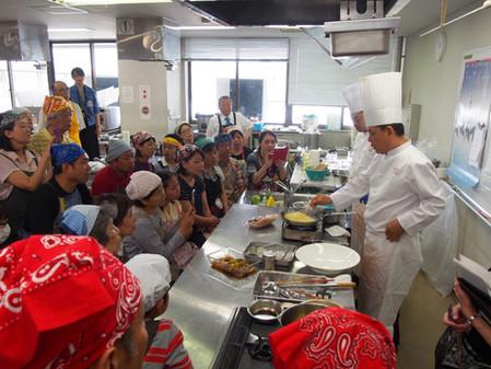 横浜市中央卸市場で「お魚日中家庭料理交流」!