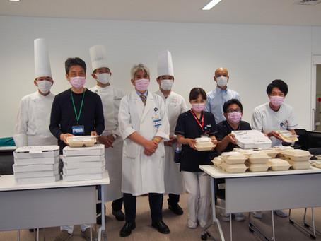 横浜市民病院へ弁当を届ける!day2