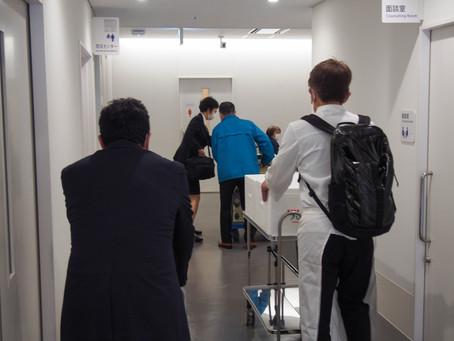 横浜市民病院へお弁当を届ける!day3