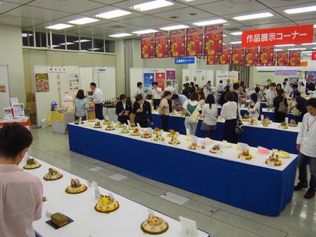 神奈川県洋菓子協会作品展に行ってきました!