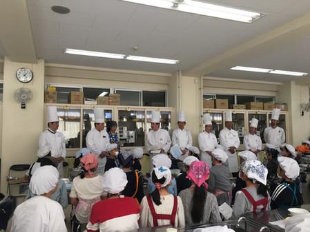 「横浜市場いちば食育出前授業&料理教室」