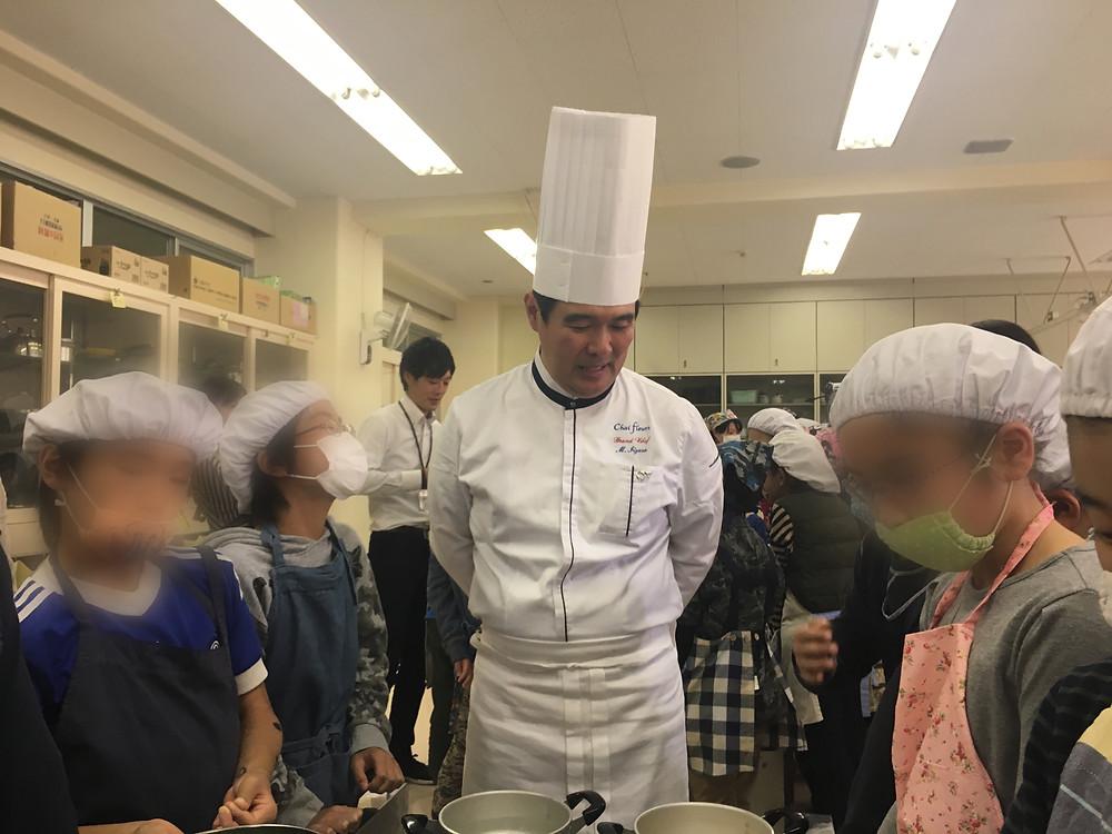 シェ・フルール 飯笹シェフ