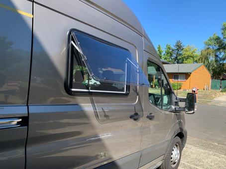 Adding Windows to the Van