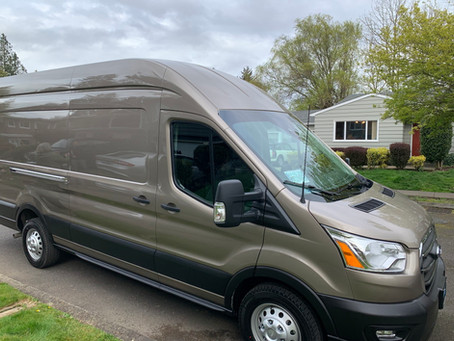Ford Transit 2020 350 HR CARGO AWD (High Roof – Extended)