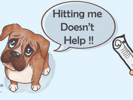 體罰有助狗狗訓練⁉️