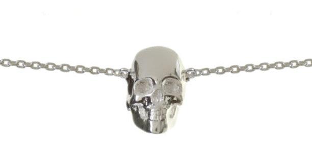 Baby Skull Bracelet Silver