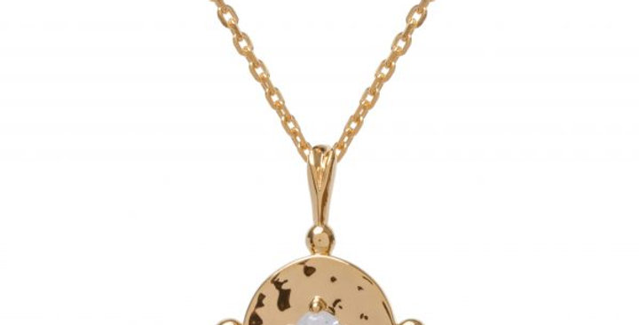 Amalfi Baby Coin Gold with Clear