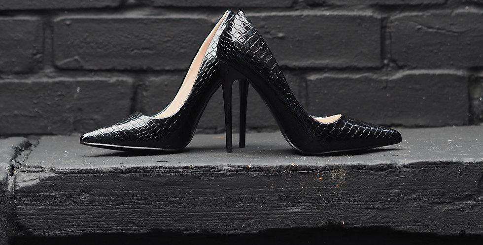 Croc Detail Shoes
