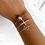 Thumbnail: Baby Skull Bracelet Silver
