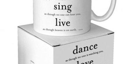 Quotable Dance Love Sing Mug