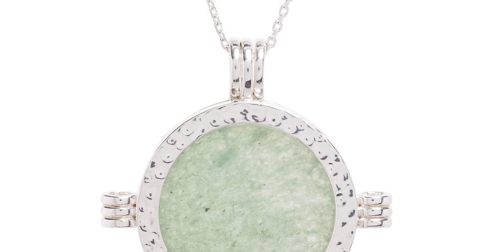 The Melrose Silver Green Aventurine