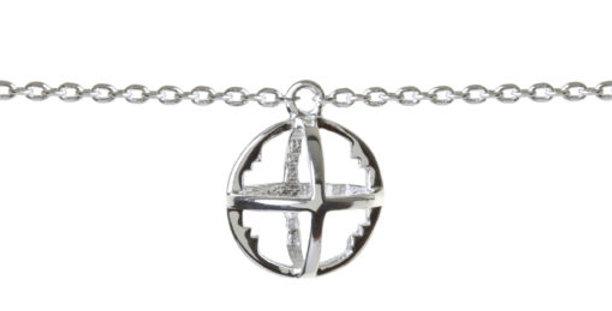 Baby ROXY Cage Bracelet Silver