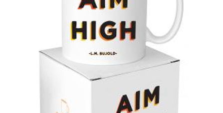 Quotable Aim High Mug