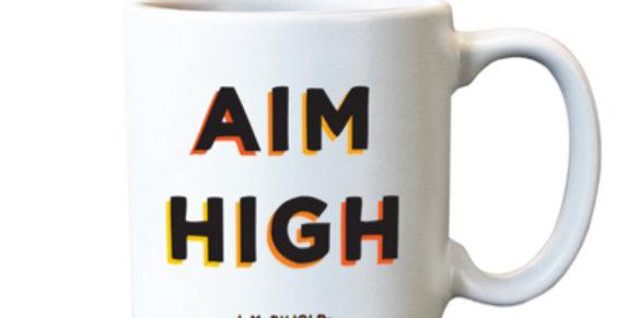 Quotable Espresso Mug Aim High