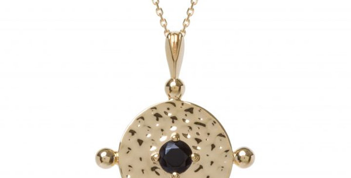 Amalfi Coin Gold with Black