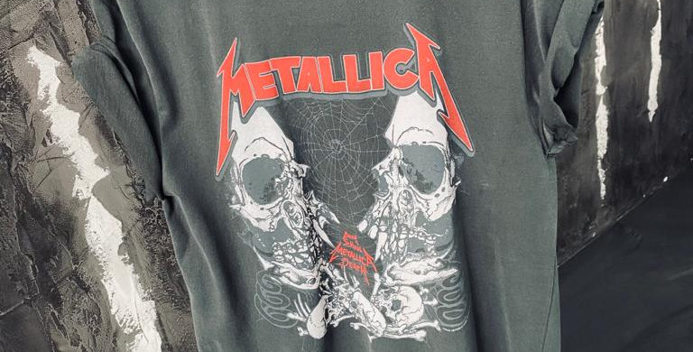 Metallica Skull Band Tee