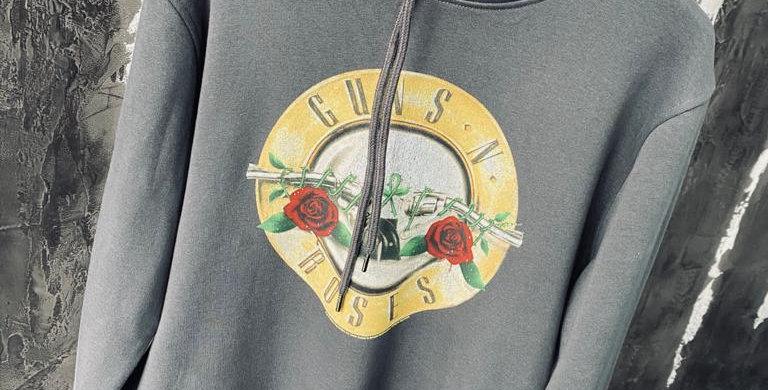 Guns & Roses Band Hoody