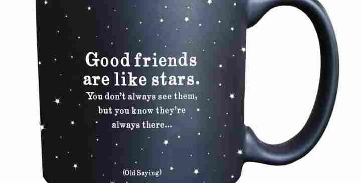 Quotable Espresso Mug Good Friends