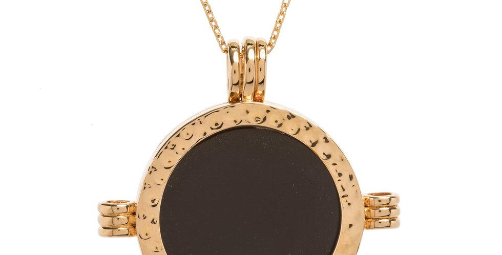 The Melrose Gold Black Obsidian
