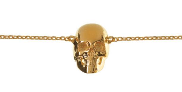 Baby Skull Bracelet Gold