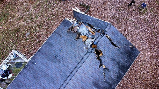 Storm Damage Shumaker Roofing